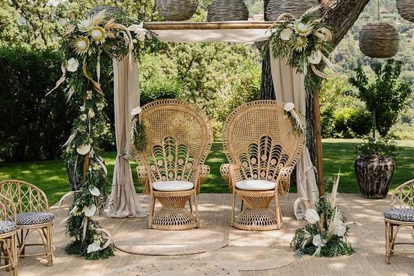 Déco de mariage, Sud de la France
